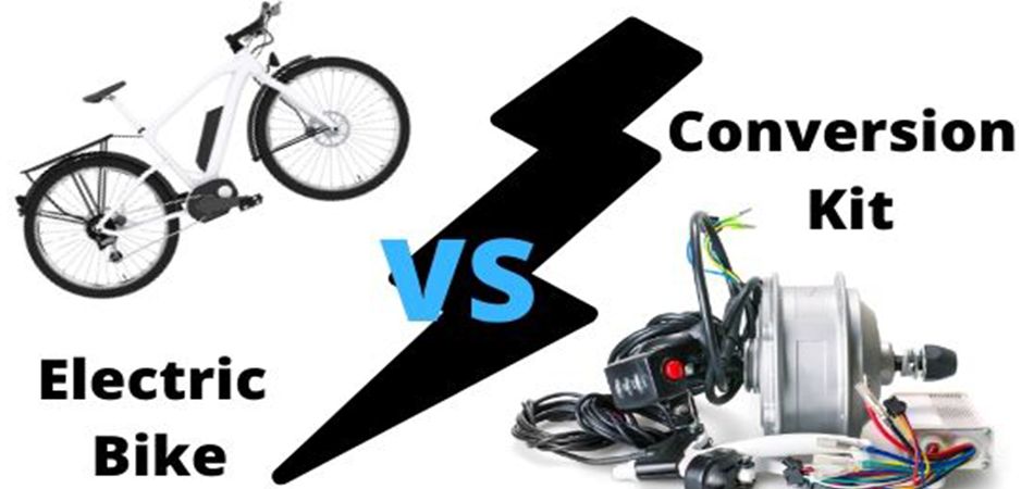 Electric Bike Vs Conversion Kit: What Are the Differences?