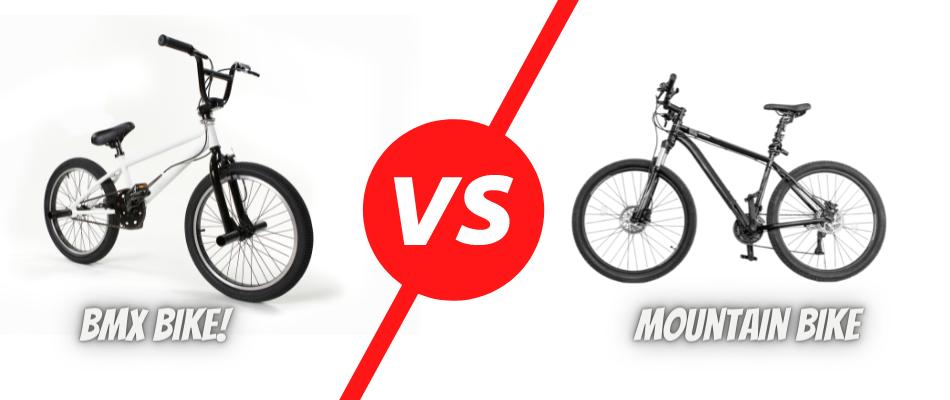BMX Bike Vs Mountain Bike