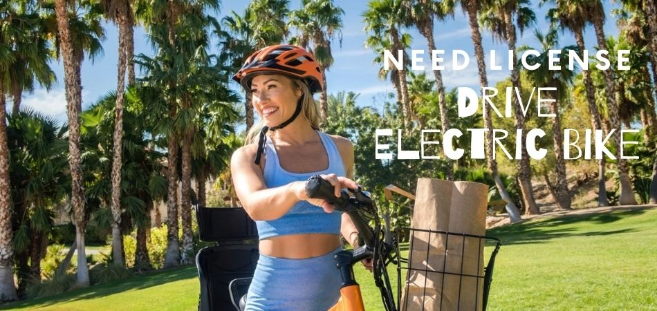 Do You Need A License To Drive An Electric Bike